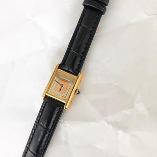 Cartier - 【仕上済】カルティエ SM トリニティ ゴールド レディース 腕時計