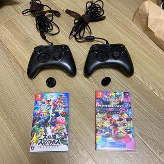 Nintendo Switch - コントローラーセット!マリオカート 8 デラックス 大乱闘スマッシュブラザーズ
