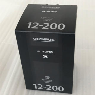 OLYMPUS - 新品未開封 オリンパス M.ZUIKO 12-200mm f3.5-6.3 保証