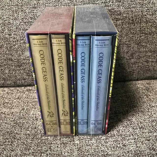 BANDAI(バンダイ)のコードギアス 反逆のルルーシュ 無印+R2 5.1ch Blu-ray BOX エンタメ/ホビーのDVD/ブルーレイ(アニメ)の商品写真
