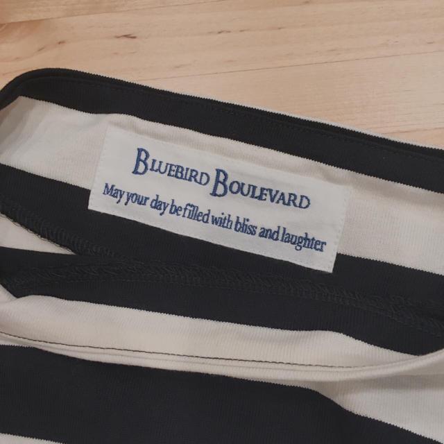 DEUXIEME CLASSE(ドゥーズィエムクラス)のブルーバードブルバード ボーダーカットソー バスクシャツ レディースのトップス(カットソー(長袖/七分))の商品写真