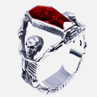 骸骨と棺リング(リング(指輪))