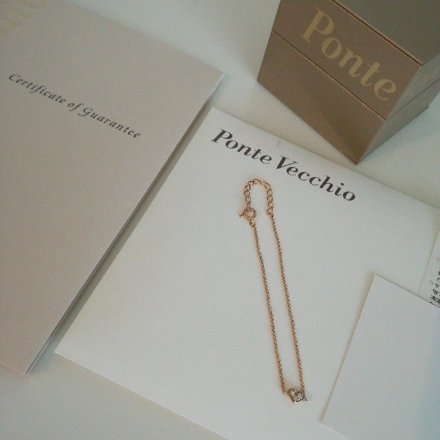 PonteVecchio(ポンテヴェキオ)のポンテヴェキオ ブレスレット K18 ハート ティファニー agate レディースのアクセサリー(ブレスレット/バングル)の商品写真