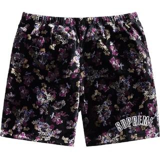 Supreme - サイズS Supreme floral velour short