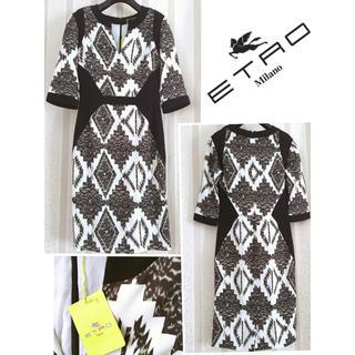 ETRO - 特別セール 新品タグ ETRO エトロ 洗練 プレシャス 秋冬 エレ女 ドレス