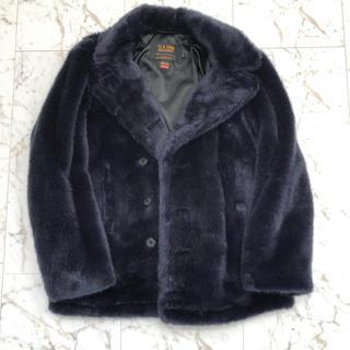 シュプリーム(Supreme)の17aw Supreme/Schott Faux Fur Peacoat (ピーコート)