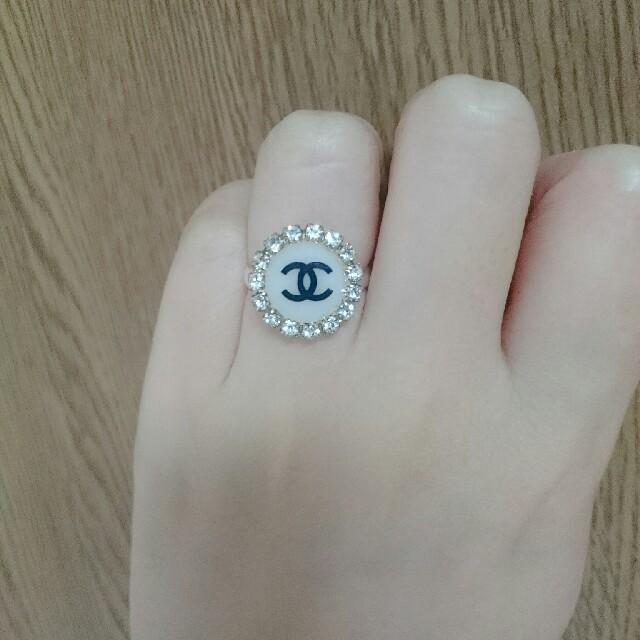 CHANEL(シャネル)のCHANEL ラインストーンリング レディースのアクセサリー(リング(指輪))の商品写真