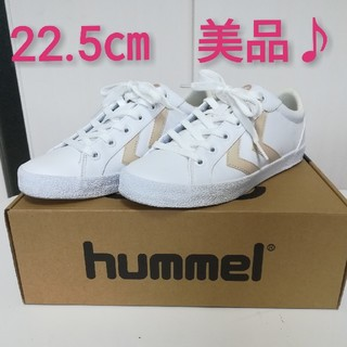 ヒュンメル(hummel)のhummel ヒュンメル スニーカー 22.5㎝(スニーカー)