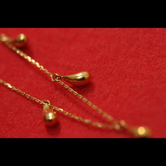 K18 ブレスレット レディースのアクセサリー(ブレスレット/バングル)の商品写真