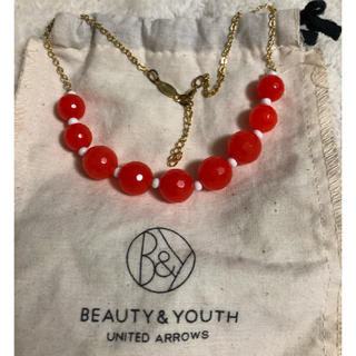 BEAUTY&YOUTH UNITED ARROWS - 未使用❗️ビューティ&ユース ネックレス