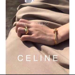 L'Appartement DEUXIEME CLASSE - 【新作】巾着付き セリーヌ ボリュームリング18k