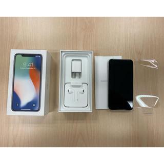 Apple - iPhone X 256GB シルバー SIMフリー