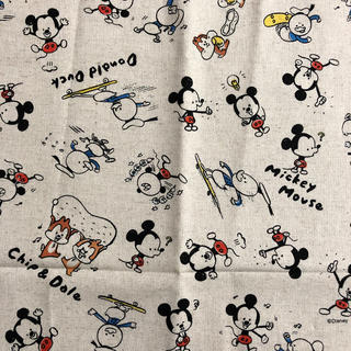 Disney - ディズニー 生地 ハギレ