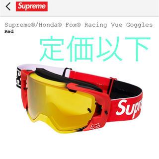 Supreme - Supreme Honda FoxRacing Vue Goggles Red