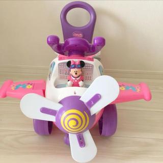 ディズニー(Disney)のミニーちゃん 手押し車 ディズニー コストコ(手押し車/カタカタ)
