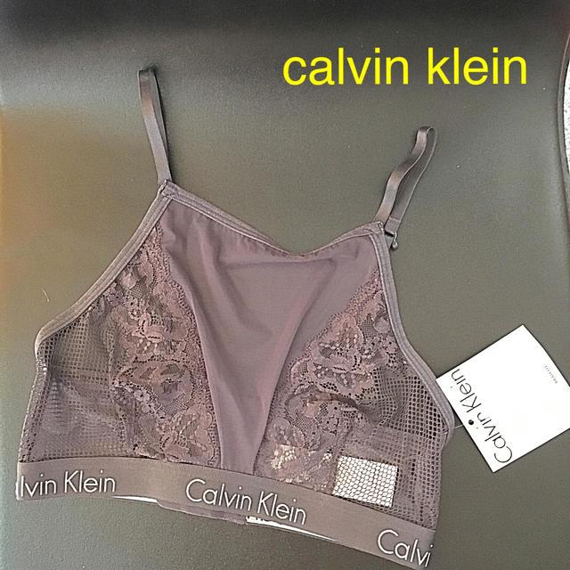 Calvin Klein(カルバンクライン)のcalvin klein  ブラレット レディースの下着/アンダーウェア(ブラ)の商品写真