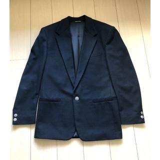 VERSACE - ヴェルサス ヴェルサーチ/イタリア製カシミア混テーラードジャケット/黒/ M