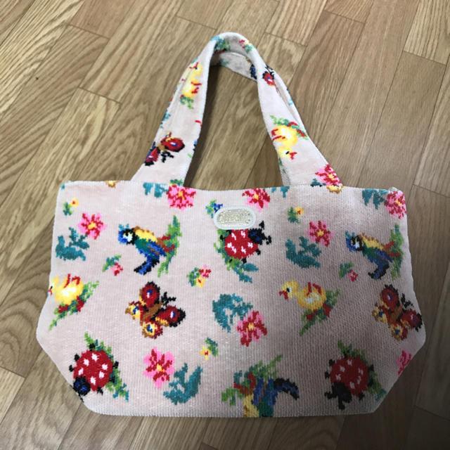 FEILER(フェイラー)の☆超レア❗️フェイラー ハイジ ピンクベージュバッグ♪ レディースのバッグ(トートバッグ)の商品写真