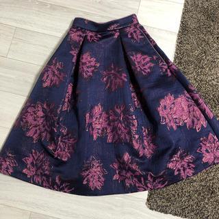snidel - スナイデル 花柄スカート