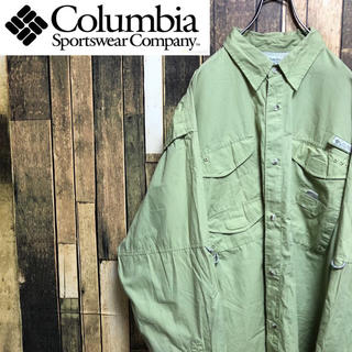 Columbia - 【激レア】コロンビア☆PFGシリーズロゴタグ入りフィッシングシャツ