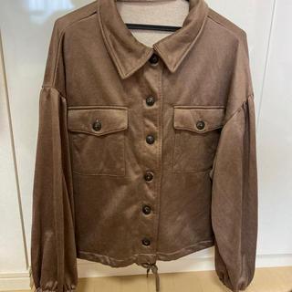 シマムラ(しまむら)のジャケット 茶色(その他)