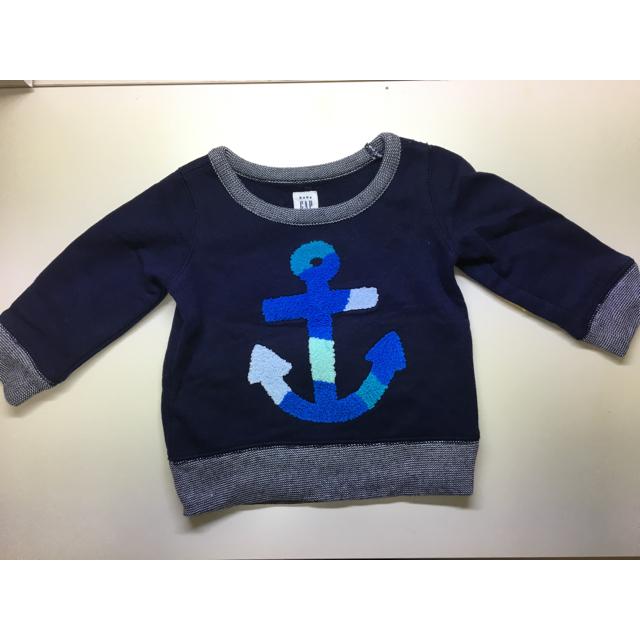 babyGAP(ベビーギャップ)の【専用】babygap ロングTシャツ70他 キッズ/ベビー/マタニティのベビー服(~85cm)(Tシャツ)の商品写真