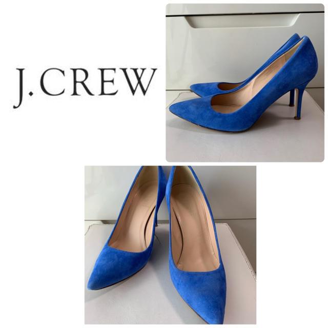 J.Crew(ジェイクルー)のジェイクルー  ブルースエード パンプス レディースの靴/シューズ(ハイヒール/パンプス)の商品写真