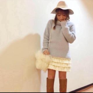 マーキュリーデュオ(MERCURYDUO)の❤️【送料込】マーキュリーデュオ☆大人気フリンジスカート(ミニスカート)