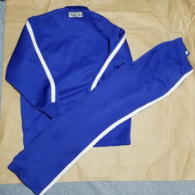 ジャージ ブルー ギャレックス  上下 スポーツ/アウトドアのトレーニング/エクササイズ(トレーニング用品)の商品写真