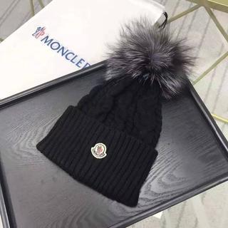 MONCLER - MONCLER › ニット帽/ビーニー