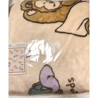 ダッフィー(ダッフィー)のミニー様専用 ダッフィー毛布、ブランケット 計2点(毛布)