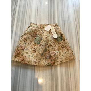 JILLSTUART - 新品 ジルスチュアート 花柄 スカート