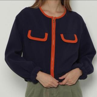 GRACE CONTINENTAL - グレースコンチネンタル  トリアセトリミングジャケット