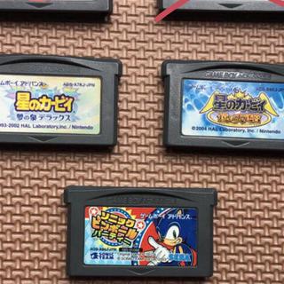ニンテンドウ(任天堂)の昭和53年様専用ゲームボーイアドバンス ソフト 3本セット(携帯用ゲームソフト)