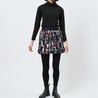 コムデギャルソン(COMME des GARCONS)の美品 タグ付き  yosoou ショート ダウンスカート(ミニスカート)