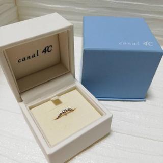 カナルヨンドシー(canal4℃)のカナル4℃  ピンキーリング 5号 ❤️大人かわいい❤️(リング(指輪))