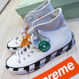 新品 Off White x Converse Chuck 70 27.5cm