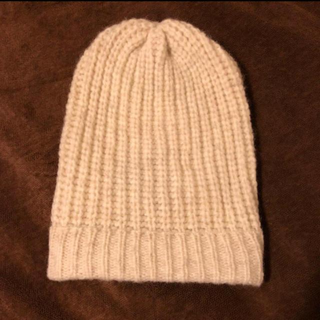DEUXIEME CLASSE(ドゥーズィエムクラス)のmaison olga メゾンオルガ ニットキャップ レディースの帽子(ニット帽/ビーニー)の商品写真