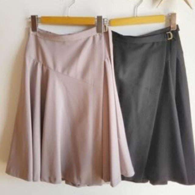 COCO DEAL(ココディール)のココディール COCODEAL ラップフレアスカート レディースのスカート(ひざ丈スカート)の商品写真