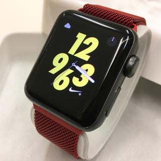 アップルウォッチ(Apple Watch)のApple Watch series2 NIKE+ 38mm アップルウォッチ(その他)