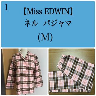 EDWIN - Miss EDWIN ネルパジャマ(M)