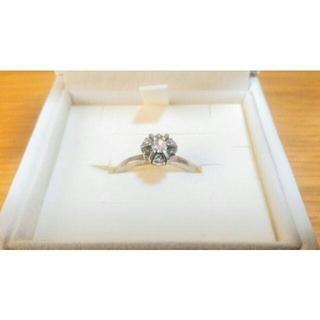 アガット(agete)のagete アガット シルバー 925 ダイヤ リング (リング(指輪))