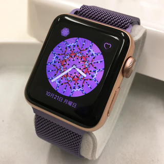 アップルウォッチ(Apple Watch)の廃盤色 Apple Watch series2 ピンク アップルウォッチ(その他)