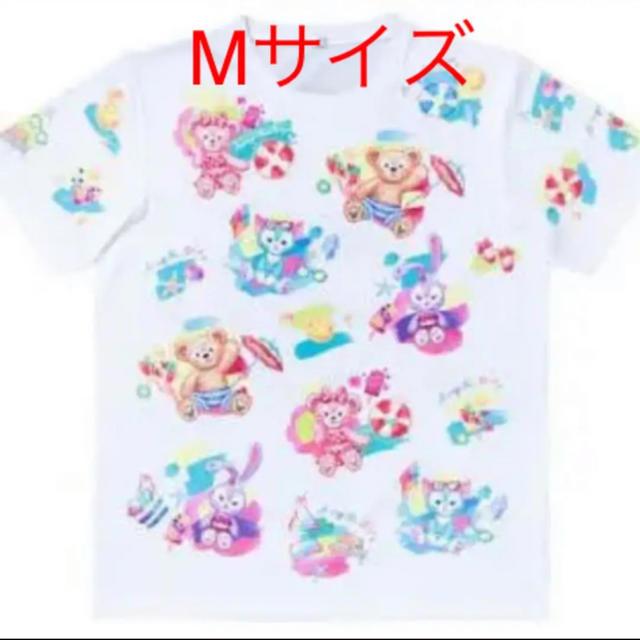 Disney(ディズニー)のディズニー ダッフィー サニーファン Tシャツ m サイズ シェリーメイ レディースのトップス(Tシャツ(半袖/袖なし))の商品写真