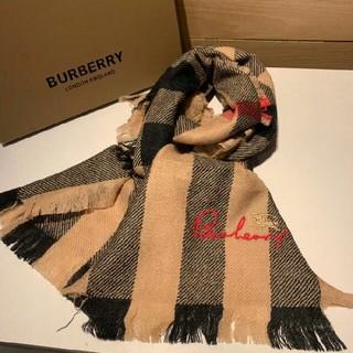 BURBERRY - 正規品 BurBerRYマフラー