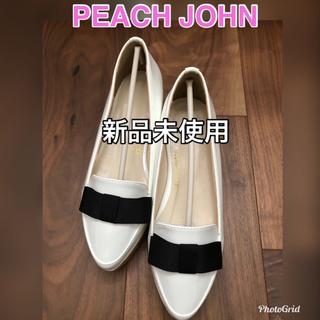 ピーチジョン(PEACH JOHN)のピーチジョンPJ Peach John コルクソールスリッポン(ハイヒール/パンプス)