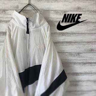 NIKE - 【大人気デザイン】NIKE ビッグスウッシュ ナイロンジャケット 美品
