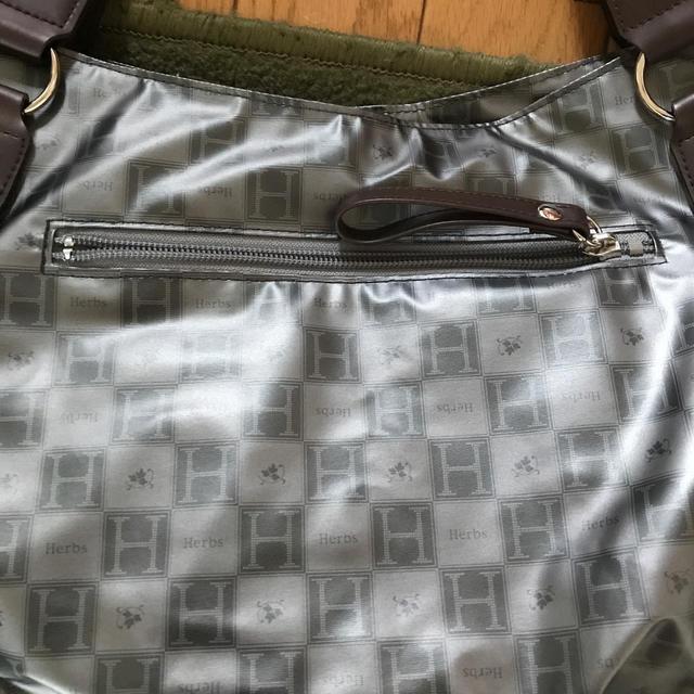 三越(ミツコシ)のバッグ、三越、Herbs、グレー レディースのバッグ(その他)の商品写真