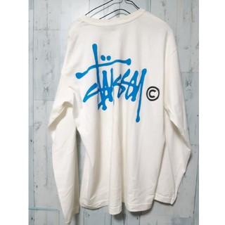 ステューシー(STUSSY)のSTUSSY ステューシー ビッグロゴ バックプリント ロンT カットソー(Tシャツ/カットソー(七分/長袖))