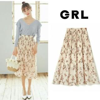 GRL - 【完売品】新作新品  GRL  花柄スカート